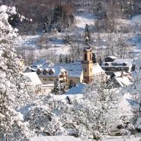 Eine märchenhafte Winterlandschaft