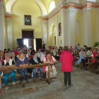 in der Kirche zur schwarzen Madonna