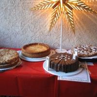 Kuchenauswahl Stand Landfrauen